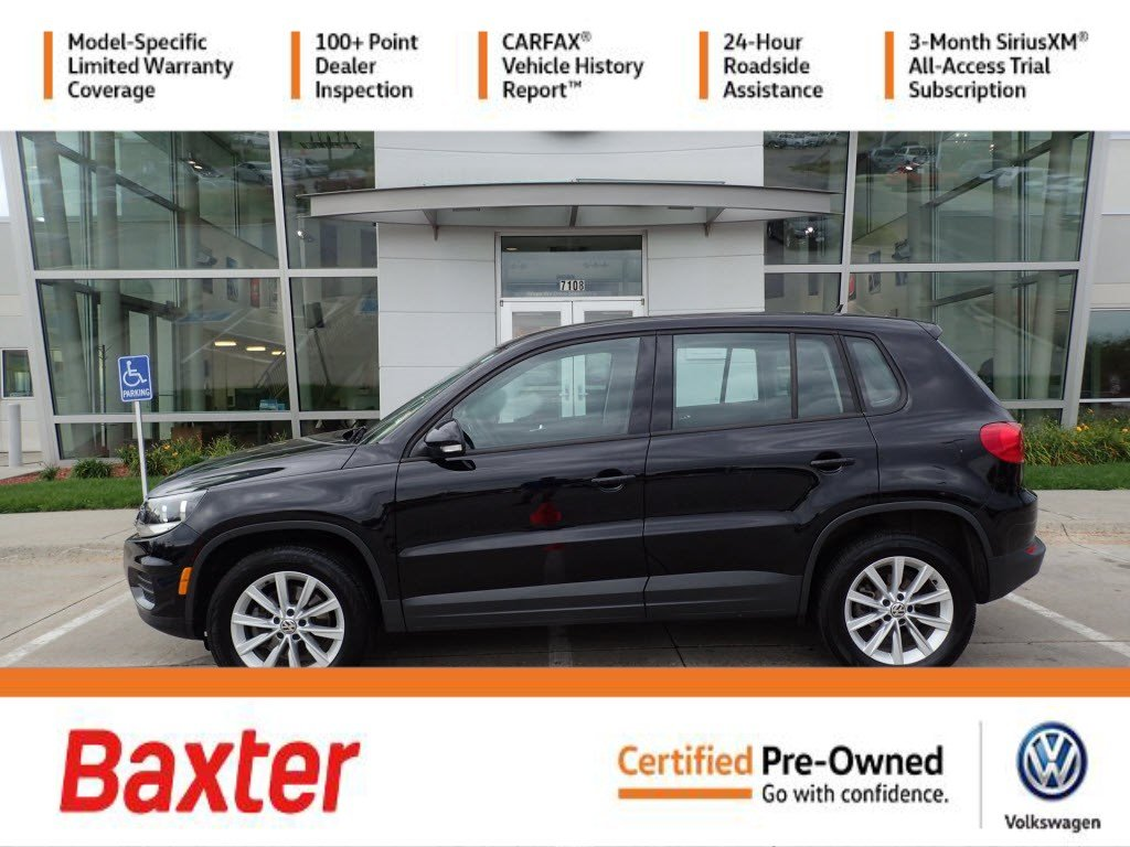 Certified Pre-Owned 2017 Volkswagen Tiguan Limited 2.0T 4MOTION