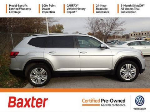 Certified Pre-Owned 2019 Volkswagen Atlas 3.6L V6 SEL