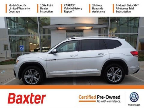 Certified Pre-Owned 2019 Volkswagen Atlas 3.6L V6 SE w/Technology R-Line