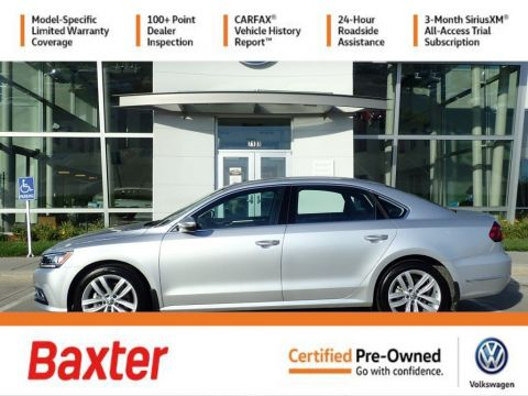 Certified Pre-Owned 2018 Volkswagen Passat 2.0T SE w/Technology